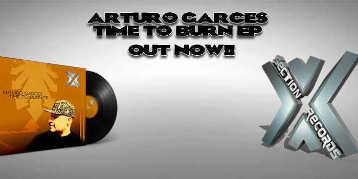 Time To Burn EP Banner